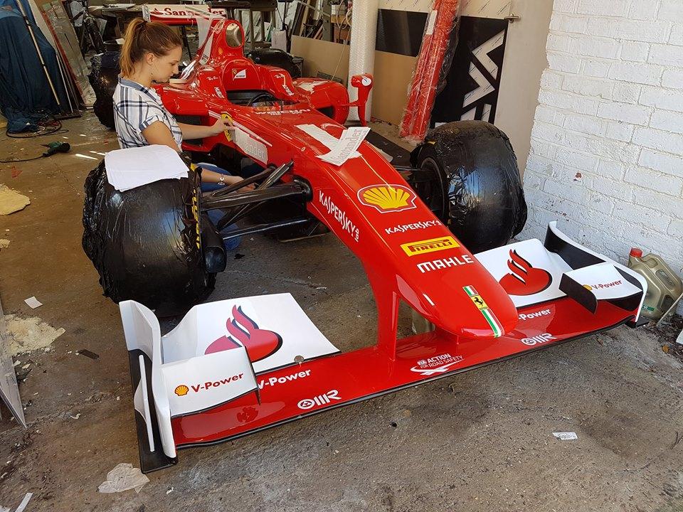 Ferrari F Show Car Core Motorsport - F1 show car
